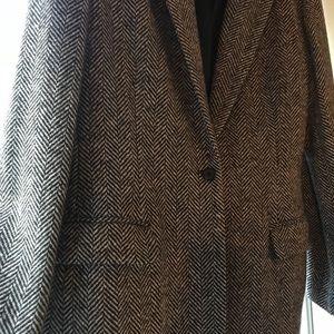 Trendy Ralph Lauren Oversized Tweed Blazer⚡️